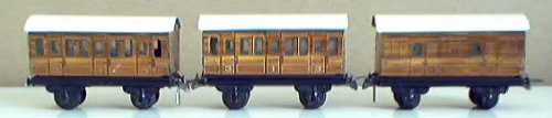 LNER 4 wheel coaches